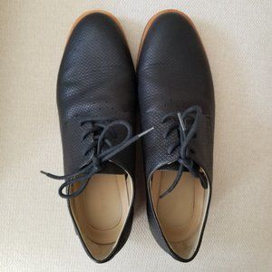 Lacoste Black Women's Oxford/Loafer Shoes